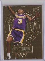 1995-96 Fleer Ultra Gold Medallion Sedale Threatt 91 Basketball Card - $3.75