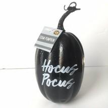 """Hocus Pocus Black Pumpkin Home Decor 7"""" Halloween Lightweight - $9.79"""