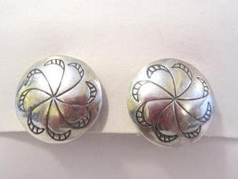 Vintage sterling silver 925 clip earrings - $18.00