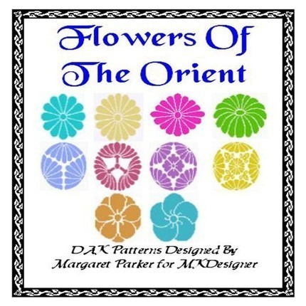 Flowers Of The Orient V.1 HK Graphs MK DAK
