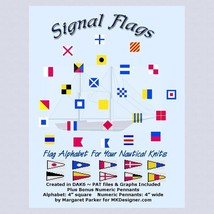 Nautical Signal Flags HK Graphs MK DAK Files - $2.40