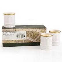 Seda France Lexington Gardens Ceramic Votive Candle Set - $47.00