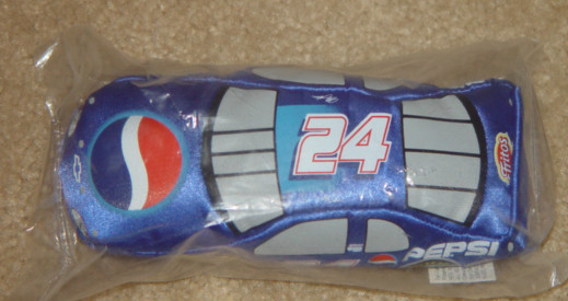 Primary image for Nascar Baby Racers Fan Fueler Pepsi #24 Sign