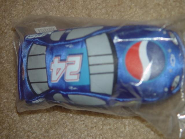 Nascar Baby Racers Fan Fueler Pepsi #24 Sign