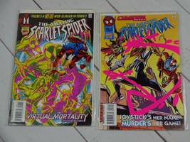 The Amazing Scarlet Spider (Marvel) 1995, Issues 1 and 2 Bagged & Boarde... - $5.99