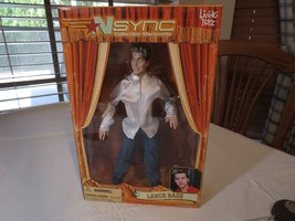 N Sync Collectible Marionette Figure Lance Bass living toyz doll 2000 pu... - $28.50