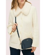 Kate Spade Spencer Small Dome Crossbody Bag Nightcap Blue Soft Saffiano ... - $68.31