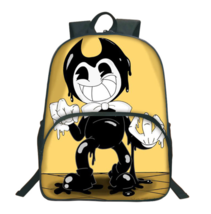 2018 Bendy And The Ink Machine Backpack For Children School Bags 028 - $77.58 CAD