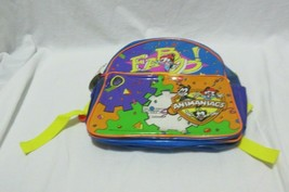 Dusty Dirty NOS Vintage 90s Animaniacs PVC Vinyl School Backpack Tote Ba... - $49.99