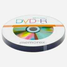 10 Pack Memorex High Speed 16x Recordable DVD+R  4.7GB/Go  120min Discs ... - $5.94