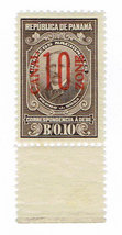 1915 Canal Zone Pedro J Sosa Postage Due Stamp Catalog Number J9 MNH