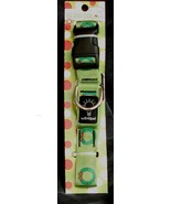 NEW IN PACKAGE World Pet Glow Collar, Size Medium, Great Holiday Pattern... - $5.93