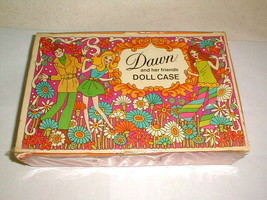 VINTAGE 1971 DAWN AND HER FRIENDS DOLL CARRY CASE TOPPER TOYS - $30.00