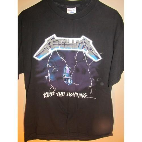 ... » SOLD... Metallica Ride The Lightning Tour