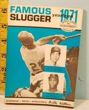 1971 Famous Slugger Yearbook Louisville Slugger Bench A. Johnson - $18.76