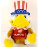 Uncle Sam Bald Eagle I love the Olympics Plush Stuffed Animal Applause 1... - $19.79