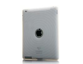 Fingerprint Silicone Back Cover Skin Case for iPad 2 Apple Tablet PC - $7.89