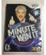 Minute To Win It - Nintendo Wii NEW IN SEALED PACKAGE - $5.89