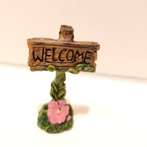 "Fairy Figurines, set of 3, Fairy Sign Garden Decor, Fairies Craft, Plastic 1.5"" image 3"