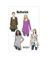 Butterick Patterns B6263KK0 Women's Tunic, KK (26W-28W-30W-32W) - $14.70