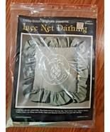 VTG Cross Stitch Originals Lace Net Darning  Pillow Kit LND-1 Pineapple - $14.84