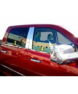 fit:2019-2020 Dodge Ram Quad Cab Window Sill Trim Stainless Steel  4PC - $78.99