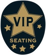 VIP Toilet Topper Peel 'N Place Party Accessory (1 count) (1/Sh) - $5.96