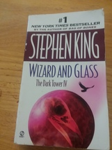 Wizard And Glass The Dark Tower IV 4  Stephen King Signet First Print 1998 - $7.99