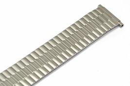 SPEIDEL 16-21MM SHORT SILVER TWIST O FLEX STRETCH EXPANSION WATCH BAND S... - $19.79