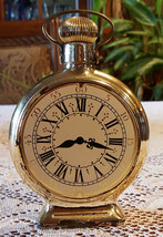 Vintage Avon Pocket Watch After Shave Bottle Decanter - $24.00
