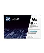 HP Genuine 26x High Yield Black Original LaserJet Toner Cartridge CF226X - $206.24