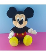 "Walt Disney World Disneyland Plush Mickey Mouse 15"" Vintage Stuffed Animal  - $21.78"