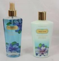 Victorias Secret~AQUA KISS~ Fragrance Body Mist & Hydrating Lotion, 8.4o... - $18.32