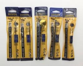 """(New) Irwin 1/16"""", 3/16"""", 3/8""""  Black Oxide Drill Bit Set - $24.74"""