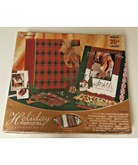 Holiday Memories Christmas Scrapbooking Kit NEW Makes 20+ Pages! Westrim... - $19.99