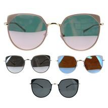 Womens Metal Rim Butterfly Minimal Mod Designer Sunglasses - $14.95
