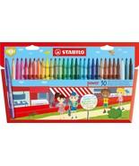 Stabilo Power Fibre Felt Tip Pens - Wallet of 30 Assorted Colours - $14.53