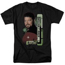 Star Trek The Next Generation Sci-Fi TV series Commander Willaim T. Riker CBS578 image 1