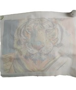 """Tiger Paint By Number.  Linen Canvas15"""" X 19"""" - $29.01"""