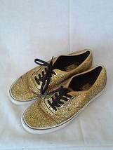 Vans Unisex Gold Sneakers Shoes T375 Size Men-8 Women-9.5 - $36.25