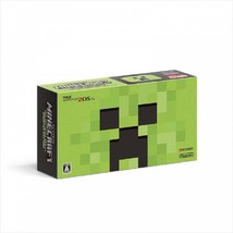MINECRAFT CREEPER EDITION NEW Nintendo 2DS LL Game Console Japan ver. NE... - $199.80