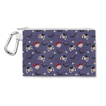 Cartoon Vampires Canvas Zip Pouch - $15.99+