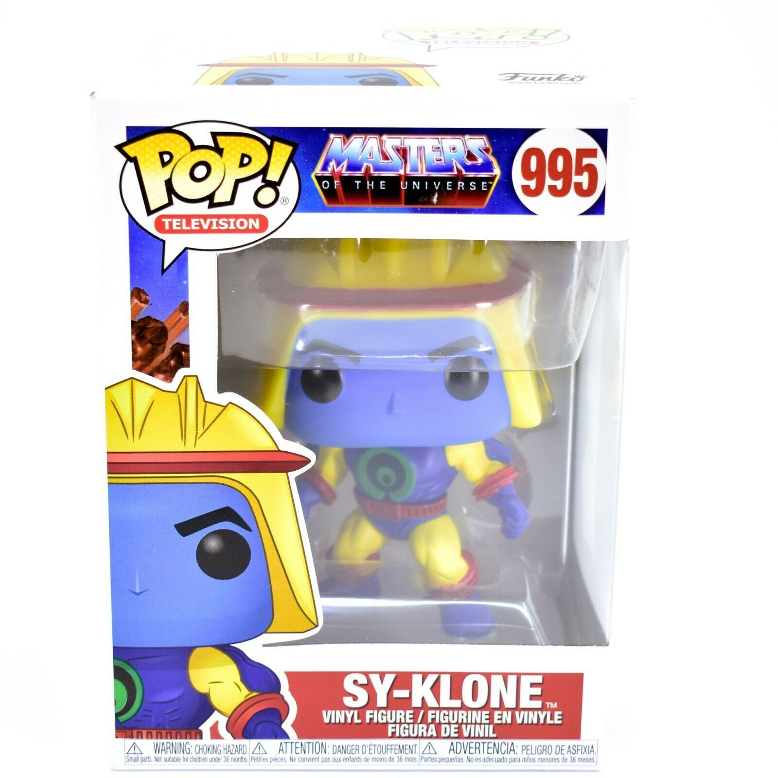 Funko Pop!Television Masters of the Universe MOTU Sy-Klone #995 Vinyl Figure