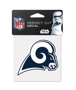 Los Angeles Rams Decal 4x4 Perfect Cut Color Special Order**Free Shipping** - $13.50