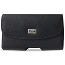 Black Leather Belt Loop Case Horizontal fits LG Exalt 2,Exalt - $9.99