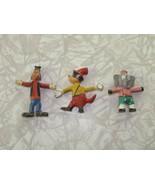 Disney Goofy & Unbranded Bendy Bendable Figures Vintage - $24.99