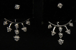 Women's 18kt White Gold Earrings - $389.00