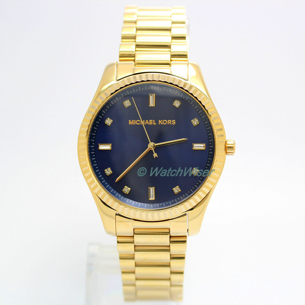 6b1c420673f4 kgrhqr mifjpyzrhglbse dqsjfw 60 57. kgrhqr mifjpyzrhglbse dqsjfw 60 57.  Previous. Michael Kors Blake women watch MK3240 gold tone 42mm blue dial  with glitz ...