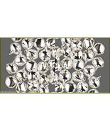 Bulk LOT 2000 SILVER Christmas JINGLE BELLS~ Metal Craft Beads Charms 12mm - $39.99