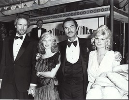 Reynolds /Anderson / Eastwood / Locke  - professional celebrity photo 1984 - $6.85
